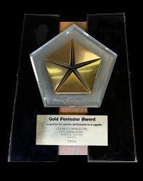 Gold Penstar Award
