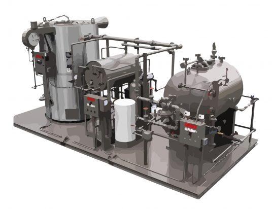 Steam boiler Diamchem